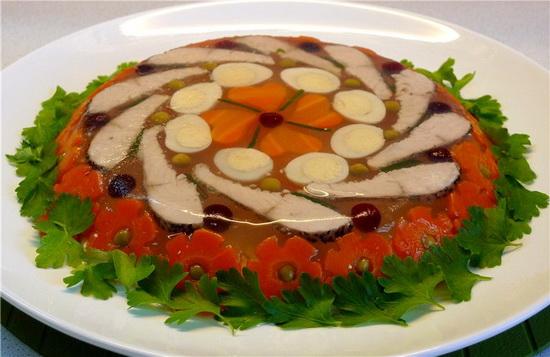 Как приготовить заливное из судака без желатина 1