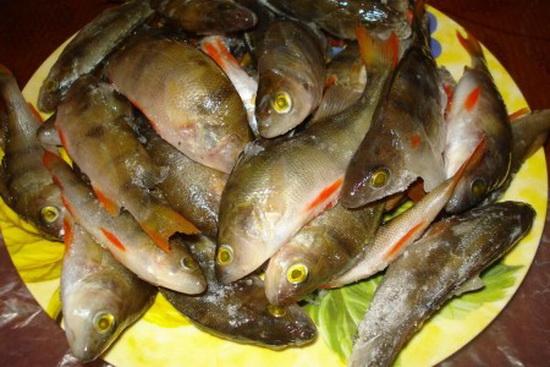 рыбные котлеты из окуня