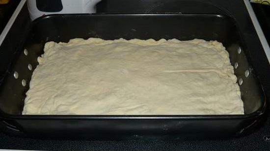 Пирог с налимом и картошкой 2