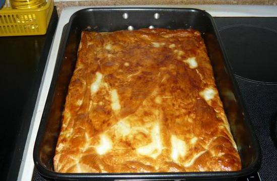 Пирог с налимом и картошкой 3