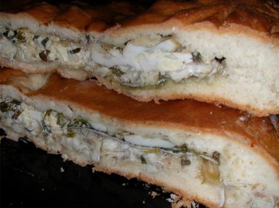 Пирог с налимом и картошкой 4