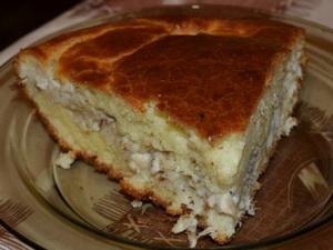 Пирог с налимом и картошкой А